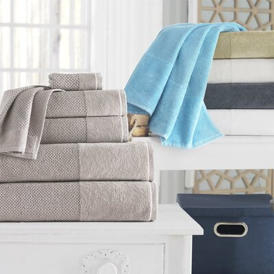 Incanto 100% Turkish Cotton 8 Piece Wash Cloth Set