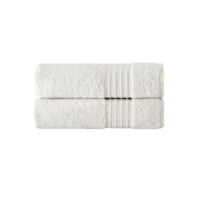 Barclay 100% Turkish Cotton Bath Towel Color: Creme