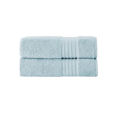 Barclay 100% Turkish Cotton Bath Towel Color: Aqua