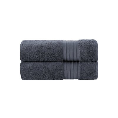 Barclay 100% Turkish Cotton Bath Towel Color: Anthracite