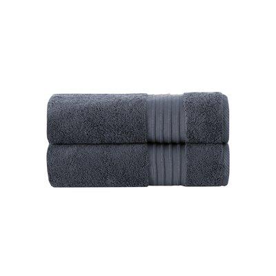 100% Turkish Cotton Bath Towel Color: Anthracite