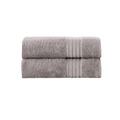 Barclay 100% Turkish Cotton Bath Towel Color: Taupe