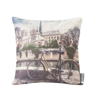 Vintage Turkish Cotton Indoor/Outdoor Throw Pillow