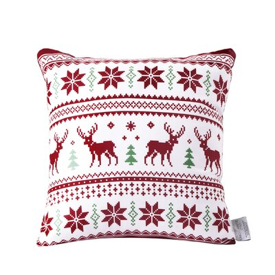 Pretty Turkish Cotton Indoor/Outdoor Throw Pillow
