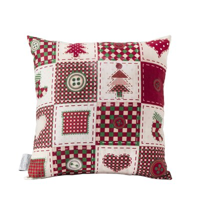 Patch Turkish Cotton Indoor/Outdoor Throw Pillow