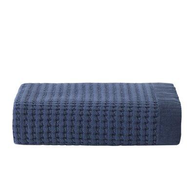 Derin Throw Blanket Color: Navy