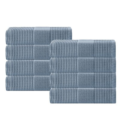 Ria Hand Towel Color: Navy