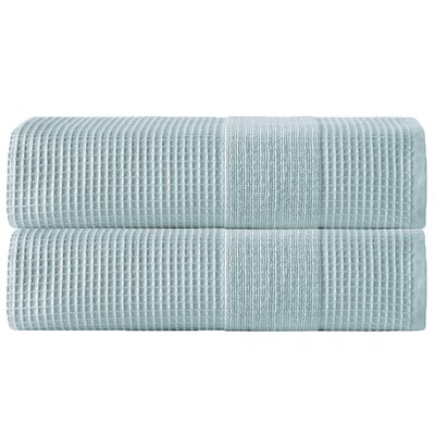 Ria Bath Towel Color: Aqua