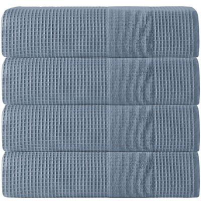 Ria Bath Towel Color: Navy