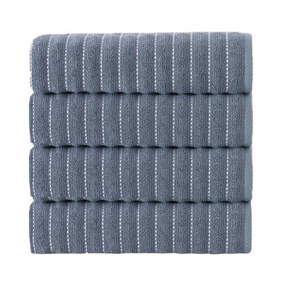 Napa Bath Towel Color: Navy