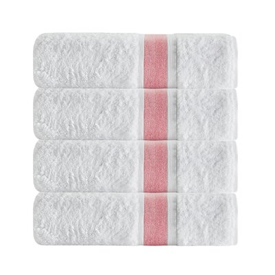 Unique Bath Towel Color: Salmon