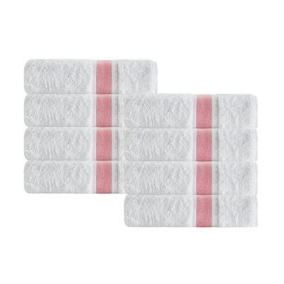 Unique Hand Towel Color: Salmon