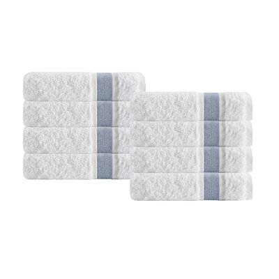Unique Hand Towel Color: Blue