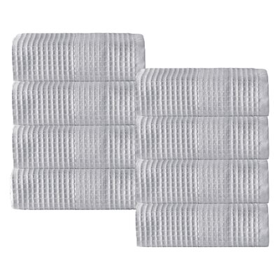 Ria Wash Cloth Color: Silver