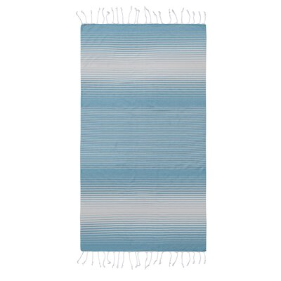 Pestemal Fouta Turkish Cotton Beach Towel Color: Turqouise