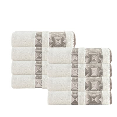 Greenwalt Turkish Cotton Hand Towel Color: Cream