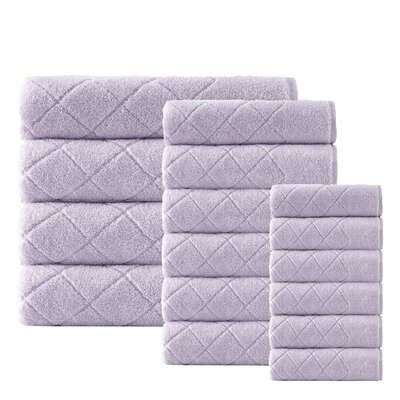 Villeroux 16 Piece Towel Set Color: Lilac