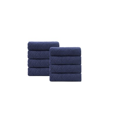 Viridian Washcloth Color: Navy
