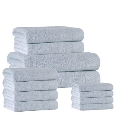 12 Piece Towel Set Color: Water Fall