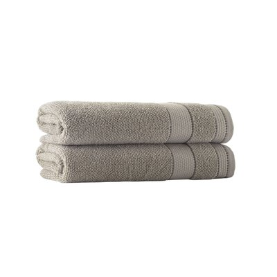 Embroidery Turkish Cotton Bath Towel Color: Beige