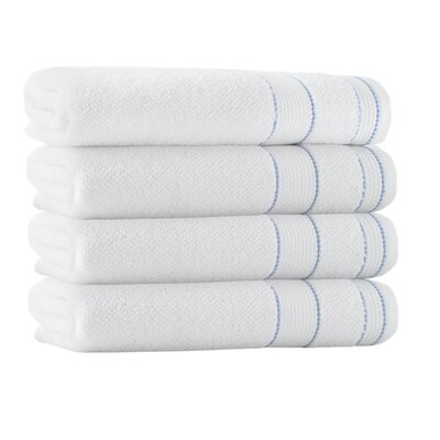 Bath Towel Set Color: White