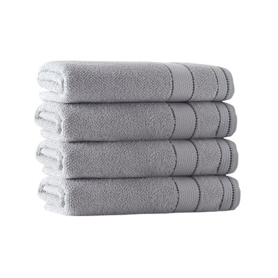 Bath Towel Set Color: Silver