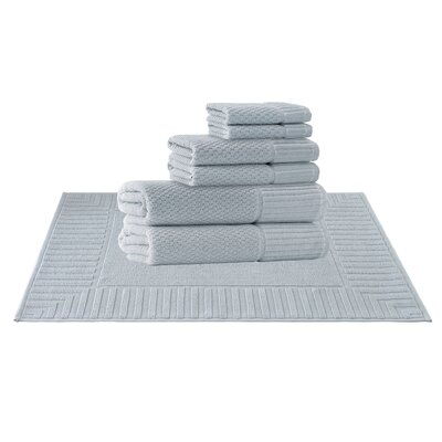 Picasso 8 Piece Towel Set Color: Waterfall