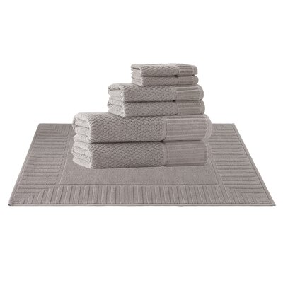 Picasso 8 Piece Towel Set Color: Sand