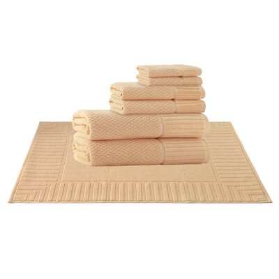 Picasso 8 Piece Towel Set Color: Somon