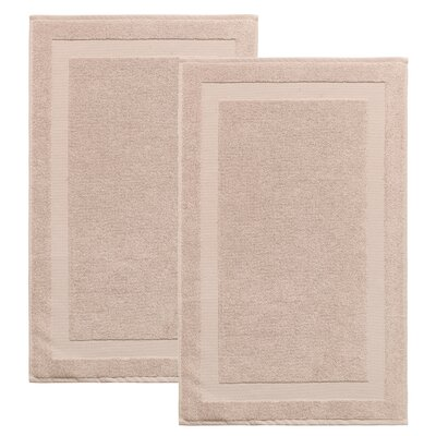 Saylors Turkish Cotton Bath Rug Color: Hazelnut