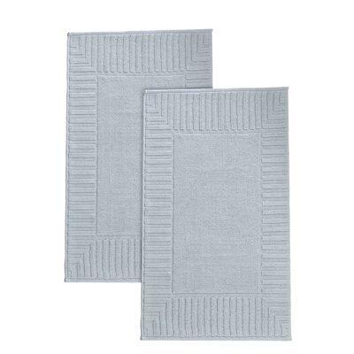 Camacho Turkish Cotton Bath Rug Color: Waterfall