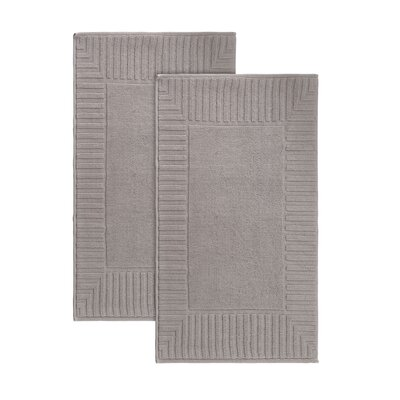 Camacho Turkish Cotton Bath Rug Color: Sand