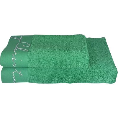 Christmas Decorative 2 Piece Towel Set Color: Green