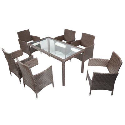 Patio 7 Piece Dining Set