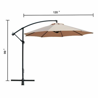 Carillon Cantilever Umbrella