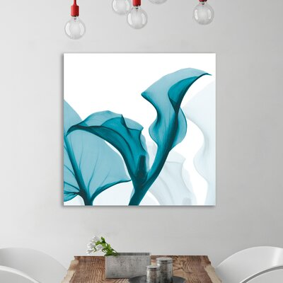 'Callaqua_L235' Graphic Art Print on Wrapped Canvas Size: 12