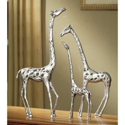 World Menagerie Giraffe Family 3 Piece Figurine Set WDMG1023 26583942