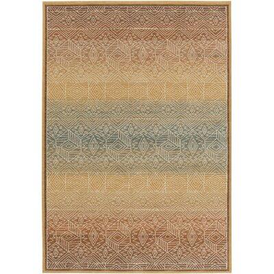 Higa Gold Area Rug Rug Size: 810 x 129