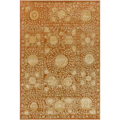 Almeta Gold Area Rug Rug Size: 710 x 910