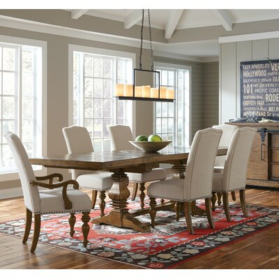 Ferguson Cross Wood Gathering Dining Table