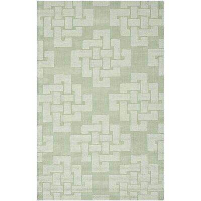 Knot Hand-Tufted Sea Anemone Area Rug Rug Size: Rectangle 4' x 6'