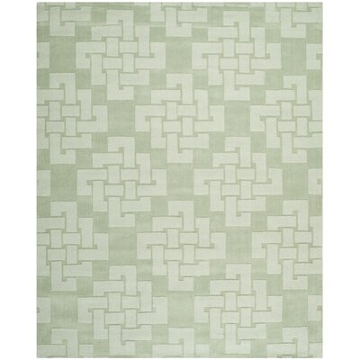 Knot Hand-Tufted Sea Anemone Area Rug Rug Size: 9 x 12
