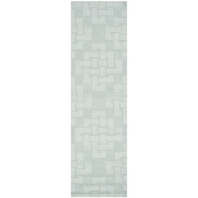 Knot Hand-Tufted Waterfall Area Rug Rug Size: Runner 23 x 8