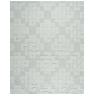 Knot Hand-Tufted Waterfall Area Rug Rug Size: 9 x 12