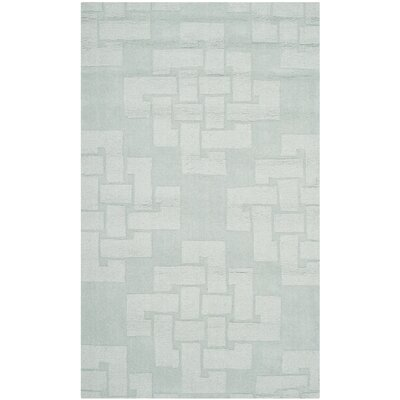 Knot Hand-Tufted Waterfall Area Rug Rug Size: Rectangle 3' x 5'