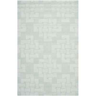 Knot Hand-Tufted Waterfall Area Rug Rug Size: 4 x 6
