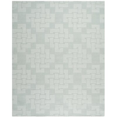 Knot Hand-Tufted Waterfall Area Rug Rug Size: 8 x 10