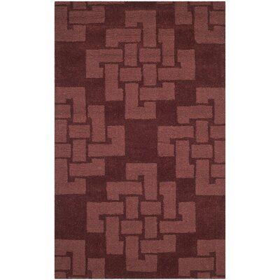 Knot Hand-Tufted Ceiling Wax Area Rug Rug Size: 3 x 5