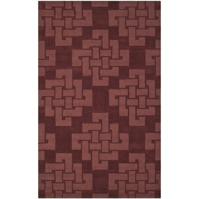 Knot Hand-Tufted Ceiling Wax Area Rug Rug Size: Rectangle 8 x 10