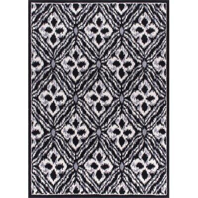 Omprakash Black Area Rug Rug Size: 710 x 106